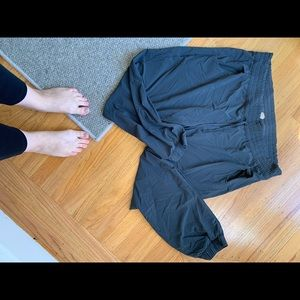 Charcoal Lucy plus size joggers